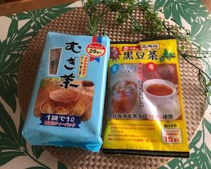 100均主婦の美学<100均ダイソー>むぎ茶と黒豆茶