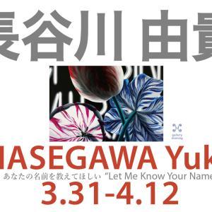 長谷川由貴個展「あなたの名前を教えてほしい」2020.3.31-4.12 12:00~18:00