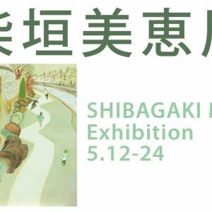 柴垣美恵個展 SHIBAGAKI Mie 2020年5月12日(火)- 24日(日)