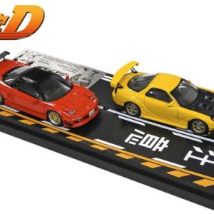 【2021年】頭文字Dミニカー|高橋啓介(FD3S)&北条豪NSX(NA1)インターアライドから発売