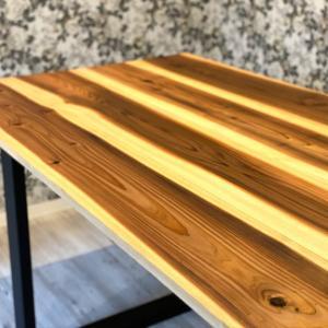 【DIY】格安で作るアイアン脚風テーブル