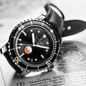 【次に狙っている腕時計】ブランパン「フィフティファゾムスミルスペック」 ~限定500本!中古で狙う40mmダイバーズ!