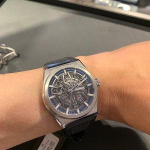【ブティック訪問】ゼニスにて本気の腕時計探し(ぷち)。