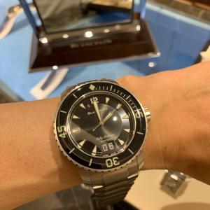 【ブティック訪問】ブランパンにて本気の腕時計探し(ぷち)。