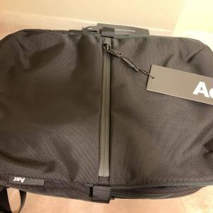 【バッグ】Aerの「FLIGHT PACK2」3wayバッグを購入してみた。