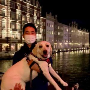 大型犬と宿泊!ハウステンボスに行ってきました②【みみ旅🐾〜1日目〜】
