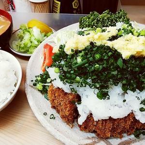 丸八とんかつ支店@大井町(おろしロースとんかつ定食)