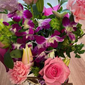 2021年母の日。お花とケーキ♪♪