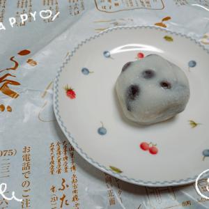 久しぶりに京都・ふたばの豆餅!