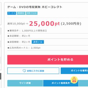 【使わないゲーム機・DVDを売却するなら】ポイントサイト経由して2500円のお小遣いGet!