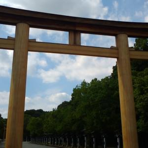 奈良県橿原神宮へひとりでぶらり