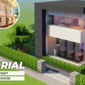 【マインクラフト】モダンな家風の焼肉製造機の作り方(建築講座)