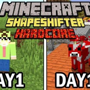 【マインクラフト】倒したMobに変身できる世界で100日ハードコア生活をしたらヤバかった【100days】【Minecraft】