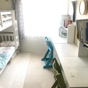 子供部屋と今日のモカ