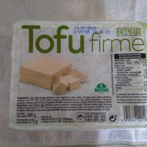 夫がお豆腐を買ってきた