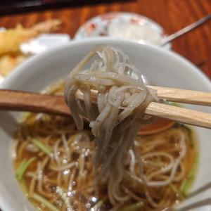 恵比寿オトナデート!贅沢な本物の蕎麦を味わう【 恵比寿「松玄」天ぷらかけ蕎麦(1300円)】
