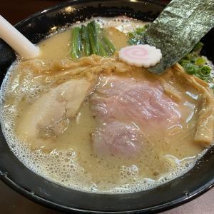 恵比寿西「おおぜき中華そば店」白湯そば(850円)