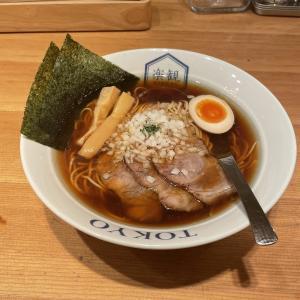 六本木エリア1位の絶品ラーメン!食通が認めるスープがほんとうに美味しくて贅沢でした【六本木「楽観 NISHIAZABU GOLD 」琥珀(1150円)】