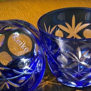名入れグラスは底にも彫れます。