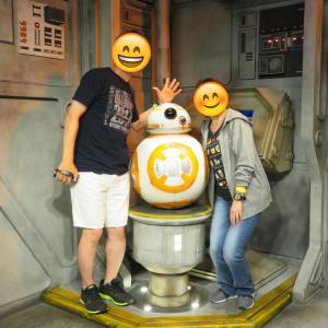 ハリウッドスタジオのBB−8