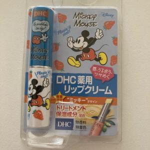 ラス1みっけ❣️【DHC薬用リップクリーム】数量限定ミッキーデザイン💕