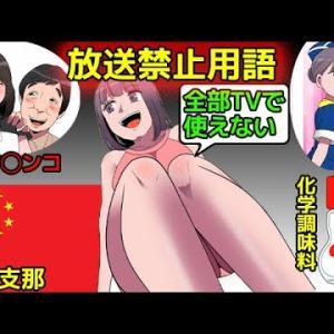 【放送事故】テレビで流れた放送禁止用語を漫画にしてみた(マンガで分かる)@アシタノワダイ