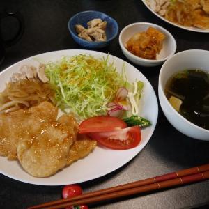 【糖質制限#40】ある日の食事記録/鶏むね肉で生姜焼き