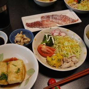 【糖質制限#41】ある日の食事記録/黒鯛のお刺身