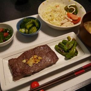 【糖質制限#58】ある日の食事記録/和牛のステーキ