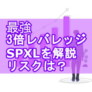 最強3倍レバレッジのSPXLとは?長期保有できる?メリットデメリット