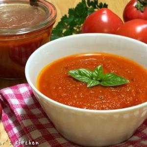 自家製トマトソース♪♪ と、4月のLessonメニュー