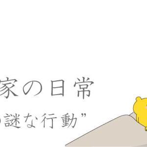 寝室のBGMと夫の謎行動(日常漫画)