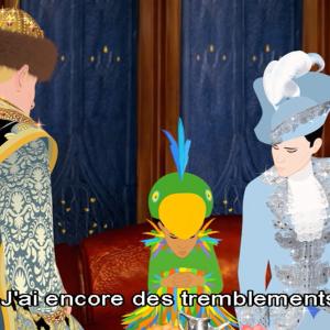 アニメでフランス語
