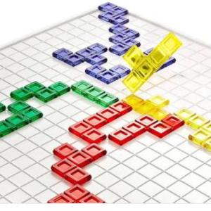 【学童レビュー ブロックス】パズル的陣取りゲーム デュオ/トライゴンも