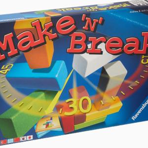 【学童レビュー メイクンブレイク/ジュニア】作ってすぐ壊す建築ゲーム