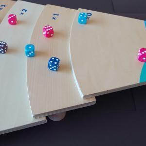 【学童レビュー タンブリンダイス】運とコントロールと計算ボードゲーム