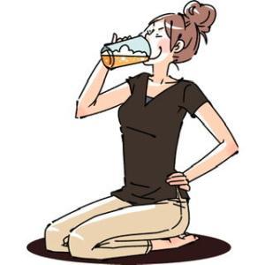 仕事の厄日でストレス増大。お酒の量も増大よ。
