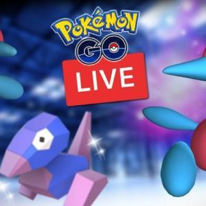 Porygon Community Day Shiny Hunt Live Pokemon Go