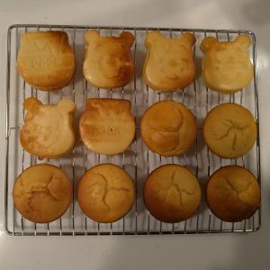 デロンギコンベクションオーブンで初めての二段調理、で再び糖質オフノンオイルヨーグルトマフィン(^^♪