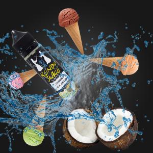 【レビュー】.coconut ice cream(KENDO juice)【リアルココナッツと残らない甘み】-提供品-