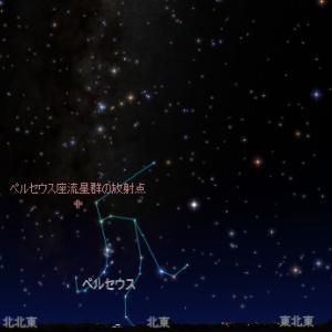 8月の天体ショー、ペルセウス座流星群とは?ピーク時刻、方角は?