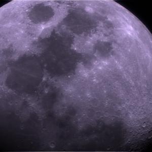 【天体撮影】レデューサーをとおして撮影した月、惑星は良好