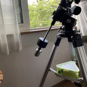【天体観測機器】画期的シャフト延長方法を実践、そしてテスト撮影