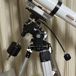 【天体観測機器】やはり赤緯微動ハンドルは必要だった