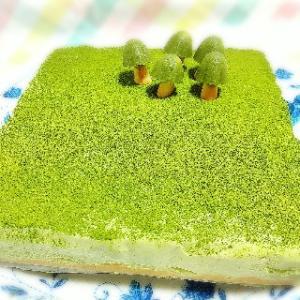 苔とキノコのレアチーズケーキ?? 夏休みに苔リウムはいかが?
