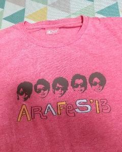 嵐フェス曲投票&お気に入りTシャツ かわいいTシャツフレーム