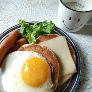 グルテンフリーパンケーキでランチ☆麻婆豆腐は入れないよ