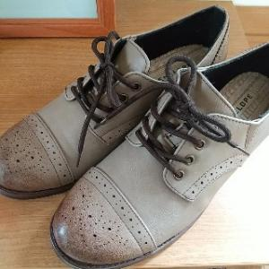 アラフィフがプチプラ★おじ靴(チャコールグレー)買ってみた