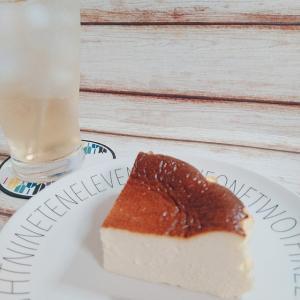 美味しい手作りバスクふうチーズケーキ!イチゴハイボールと
