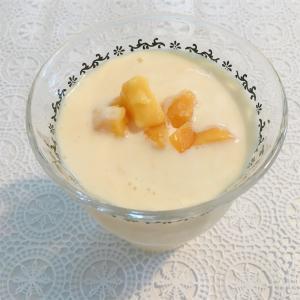 【糖質制限】マンゴーのヨーグルトスムージー☆